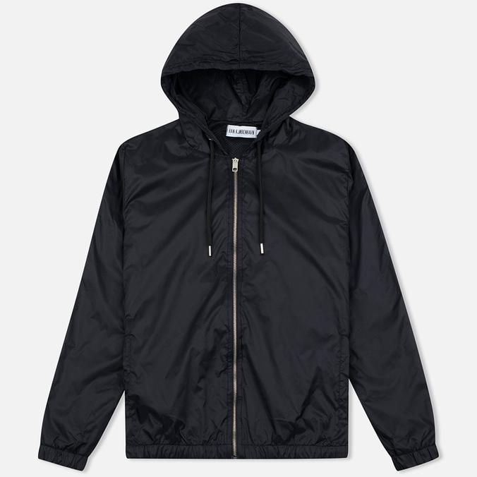 Мужская куртка ветровка Han Kjobenhavn Tech Zip Hood Black