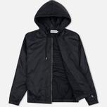 Мужская куртка ветровка Han Kjobenhavn Tech Zip Hood Black фото- 1