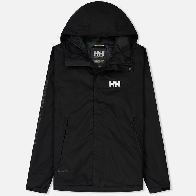 Мужская куртка ветровка Helly Hansen Ervik Black