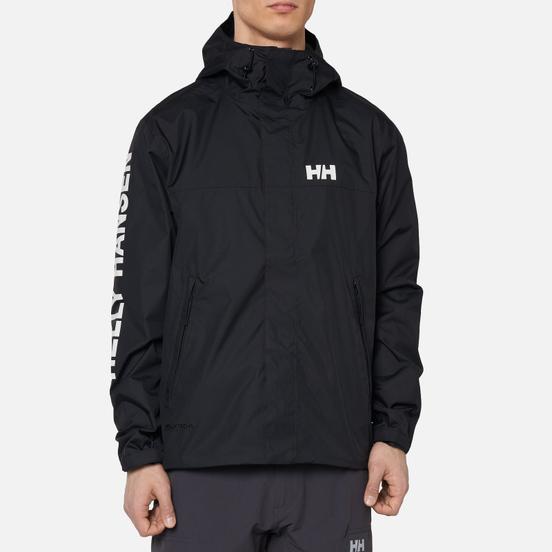 Мужская куртка ветровка Helly Hansen Ervik Black/White