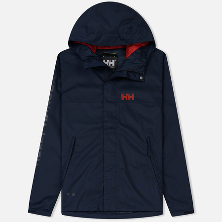 Мужская куртка ветровка Helly Hansen Ervik Navy