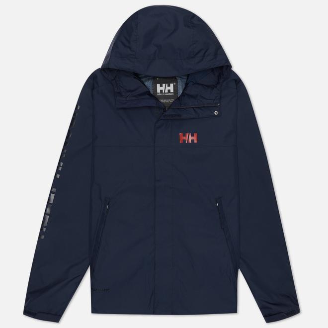 Мужская куртка ветровка Helly Hansen Ervik Navy/Red