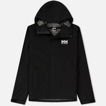 Мужская куртка ветровка Helly Hansen Seven J Black фото- 0