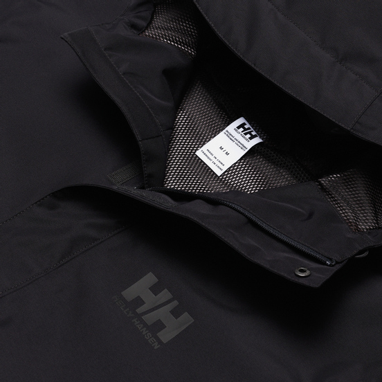 Мужская куртка ветровка Helly Hansen Seven J Ebony