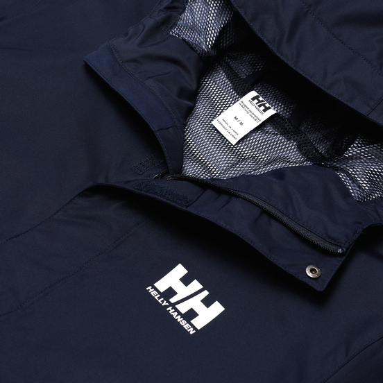 Мужская куртка ветровка Helly Hansen Seven J Navy