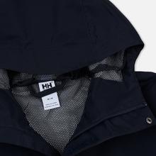Мужская куртка ветровка Helly Hansen Seven J Navy фото- 2