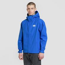 Мужская куртка ветровка Helly Hansen Seven J Olympian Blue фото- 2