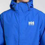 Мужская куртка ветровка Helly Hansen Seven J Olympian Blue фото- 3