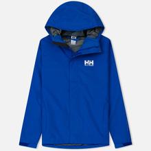 Мужская куртка ветровка Helly Hansen Seven J Olympian Blue фото- 0
