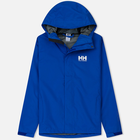 Мужская куртка ветровка Helly Hansen Seven J Olympian Blue