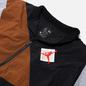 Мужская куртка ветровка Jordan x Patta NRG Jumpman Black/Light British Tan/River Rock фото - 1