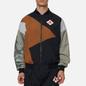 Мужская куртка ветровка Jordan x Patta NRG Jumpman Black/Light British Tan/River Rock фото - 2