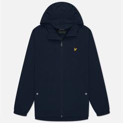 Мужская куртка ветровка Lyle & Scott Zip Through Hooded Dark Navy