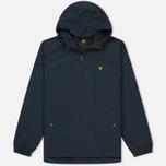 Мужская куртка ветровка Lyle & Scott Zip Through Hooded Logo Navy фото- 0