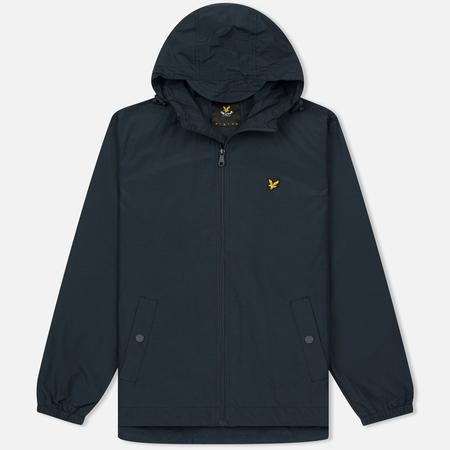 Мужская куртка ветровка Lyle & Scott Zip Through Hooded Logo Navy