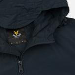 Мужская куртка ветровка Lyle & Scott Zip Through Hooded Logo Navy фото- 2