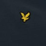 Мужская куртка ветровка Lyle & Scott Zip Through Hooded Logo Navy фото- 3