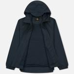 Мужская куртка ветровка Lyle & Scott Zip Through Hooded Logo Navy фото- 1