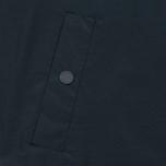 Мужская куртка ветровка Lyle & Scott Zip Through Hooded Logo Navy фото- 5