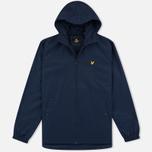 Мужская куртка ветровка Lyle & Scott Zip Through Hooded Navy фото- 0