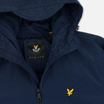 Мужская куртка ветровка Lyle & Scott Zip Through Hooded Navy фото- 2