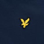 Мужская куртка ветровка Lyle & Scott Zip Through Hooded Navy фото- 4