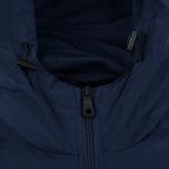 Мужская куртка ветровка Lyle & Scott Zip Through Hooded Navy фото- 3