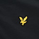 Мужская куртка ветровка Lyle & Scott Zip Through Hooded True Black фото- 4