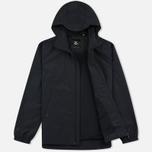 Мужская куртка ветровка Lyle & Scott Zip Through Hooded True Black фото- 1