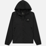 Мужская куртка ветровка MA.Strum Stormer Packable Hooded Windrunner Jet Black фото- 0