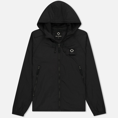 Мужская куртка ветровка MA.Strum Stormer Packable Hooded Windrunner Jet Black
