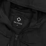 Мужская куртка ветровка MA.Strum Stormer Packable Hooded Windrunner Jet Black фото- 2