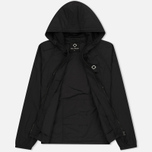 Мужская куртка ветровка MA.Strum Stormer Packable Hooded Windrunner Jet Black фото- 1