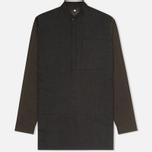 Мужская куртка анорак Maharishi Panelwork Charcoal фото- 0