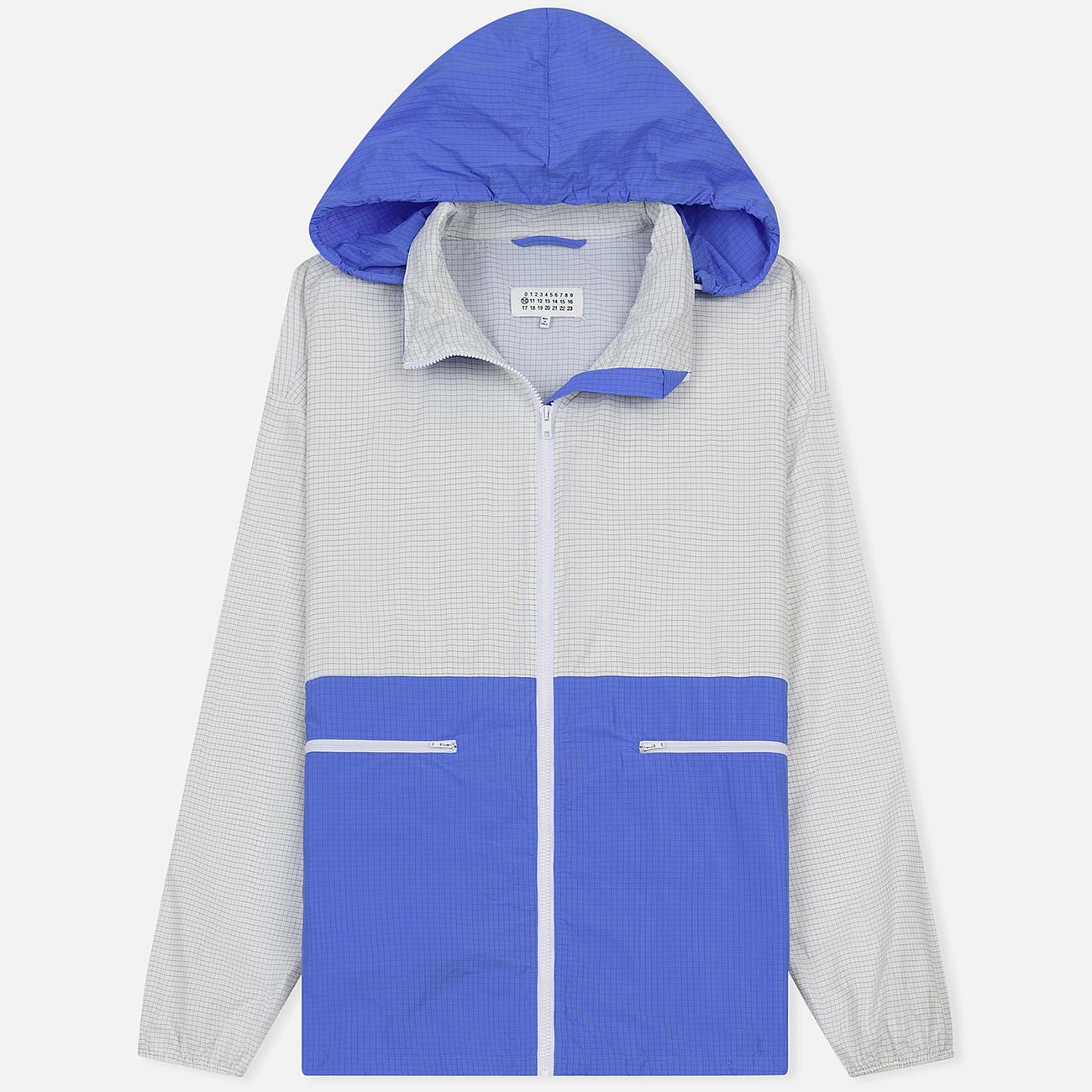 Мужская куртка ветровка Maison Margiela Anonymity Lining White