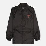 Мужская куртка ветровка maharishi Coaches Black фото- 0