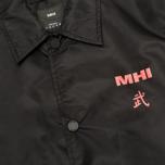 Мужская куртка ветровка maharishi Coaches Black фото- 3