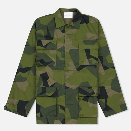 MKI Miyuki-Zoku Twill Fatigue Men's Windbreaker Splinter Camo