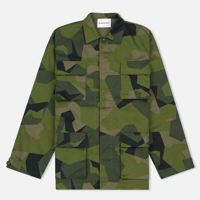 Мужская куртка ветровка MKI Miyuki-Zoku Twill Fatigue Splinter Camo