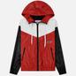 Мужская куртка ветровка MSGM With Logo Patch Red фото - 0