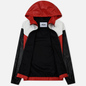 Мужская куртка ветровка MSGM With Logo Patch Red фото - 1