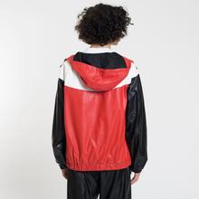Мужская куртка ветровка MSGM With Logo Patch Red фото- 3