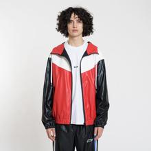 Мужская куртка ветровка MSGM With Logo Patch Red фото- 2