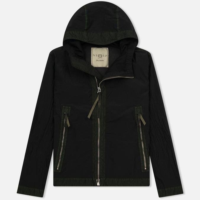 Мужская куртка ветровка Nemen Filter Hooded Smock Black