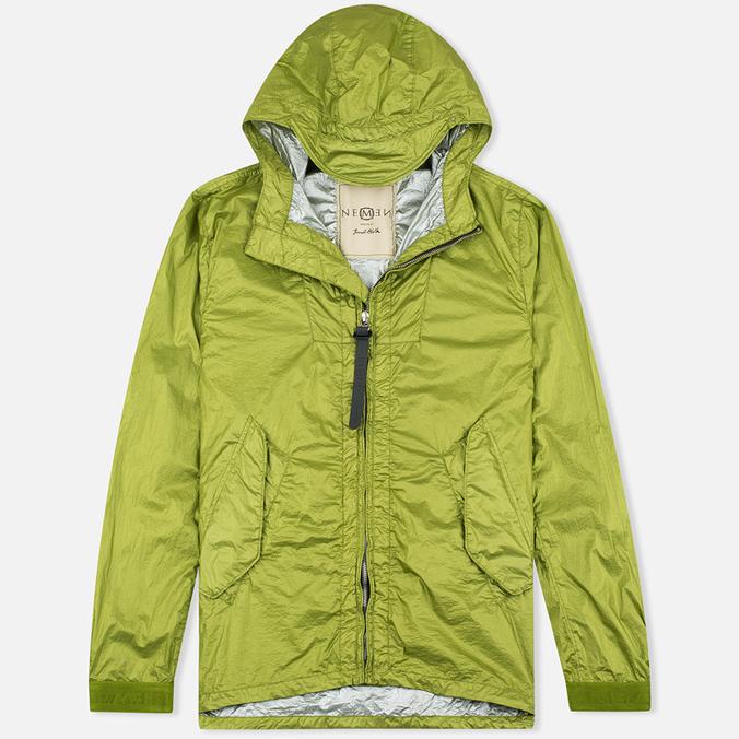 Мужская куртка ветровка Nemen Wind Breaker Leaf Green