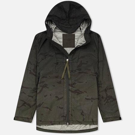 Мужская куртка ветровка Nemen Windbreaker Multicam Ripstop Ink Black