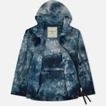 Мужская куртка ветровка Nemen Windbreaker Tie Dye Blue Tones фото- 1