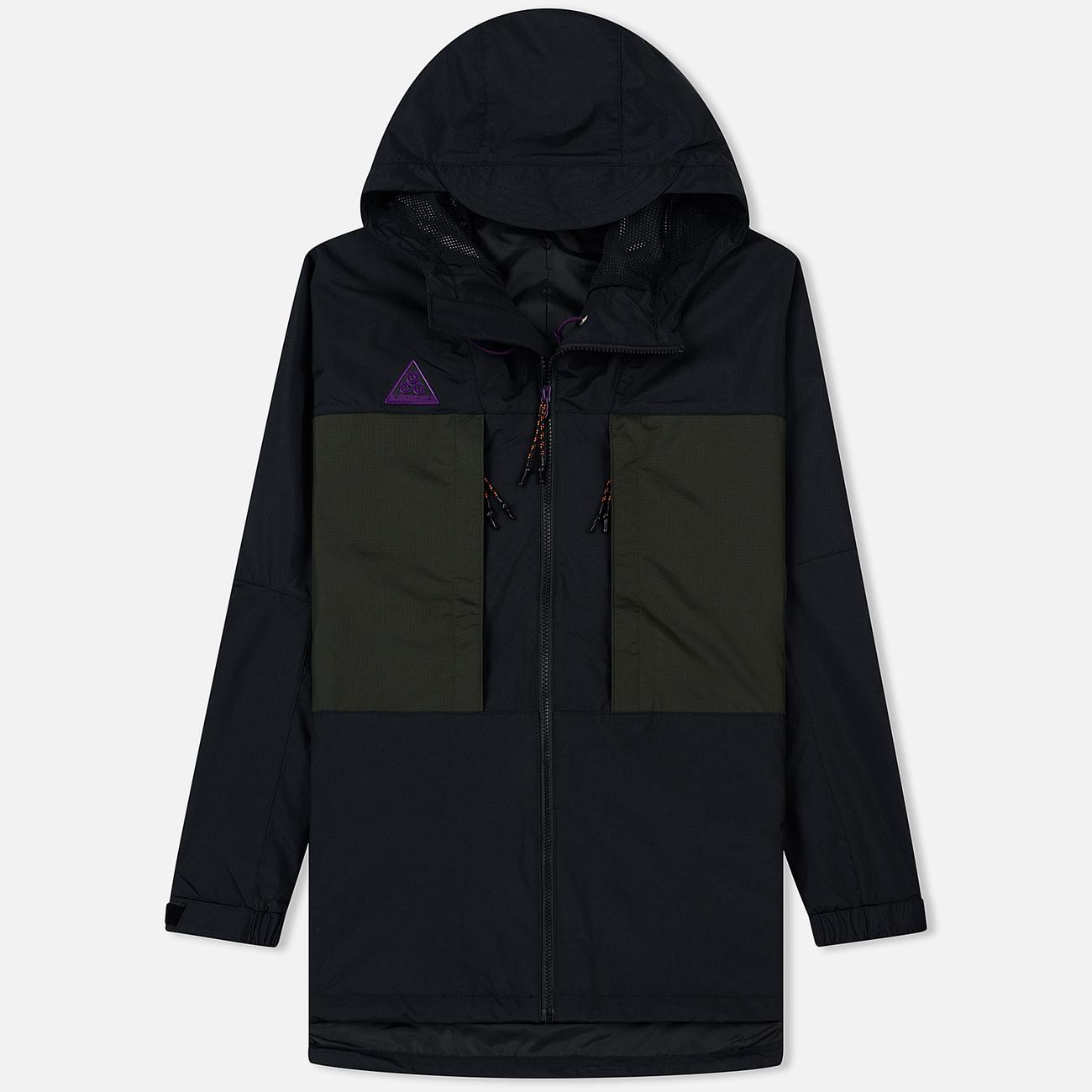 Мужская куртка ветровка Nike ACG Black/Sequoia/Black