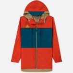 Мужская куртка ветровка Nike ACG Habanero Red/Geode Teal/Parachute Beige фото- 0
