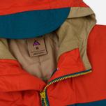 Мужская куртка ветровка Nike ACG Habanero Red/Geode Teal/Parachute Beige фото- 1